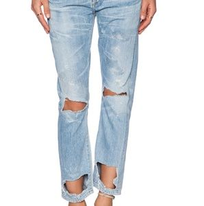 Citizens of Humanity slim boyfriend jeans